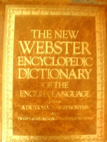 The New Webster Encyclopedic Dictionary of the: Thatcher, Virginia S.;