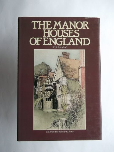 9780517458617: Manor Houses of England