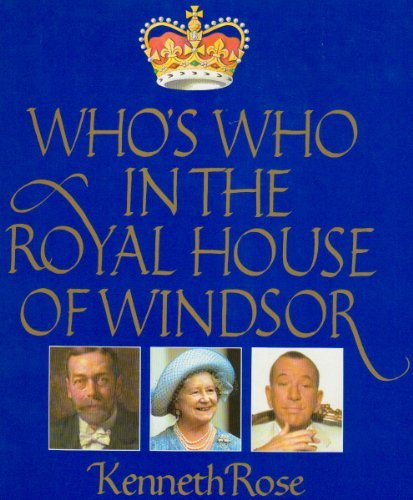 9780517463246: Who's Who in the Royal House of Windsor