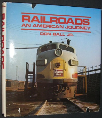 9780517463833: Railroads: An American Journey