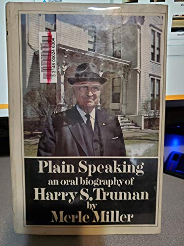 Plain Speaking (0517466139) by Miller, Merle
