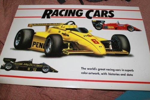 9780517474143: Racing Cars: A Poster Book
