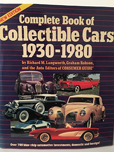 9780517479346: New Complete Book Of Collector Cars