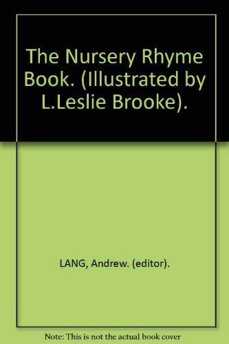 9780517479780: The Nursery Rhyme Book