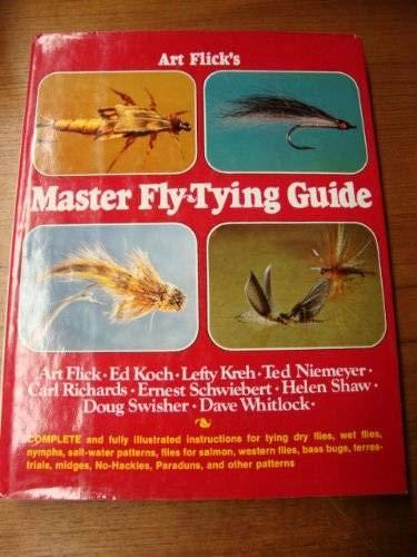 Art Flick's Master Fly-Tying Guide.: Flick, Art