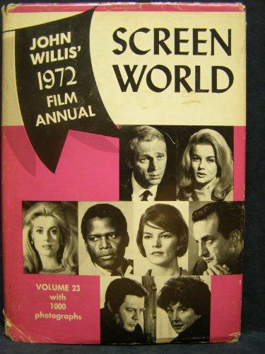 9780517501283: Screen World John Willis 1972 Film Annual Vol 23