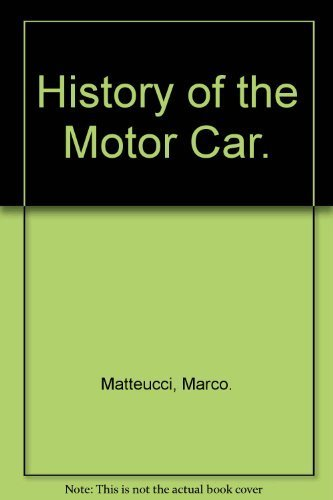 9780517501900: History of the Motor Car.