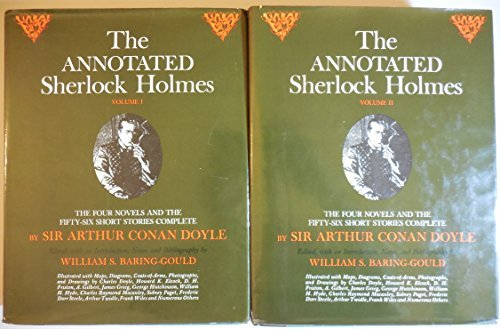 9780517502914: The Annotated Sherlock Holmes: The Four Novels and the Fifty-Six Short Stories Complete (2 Volume Set)