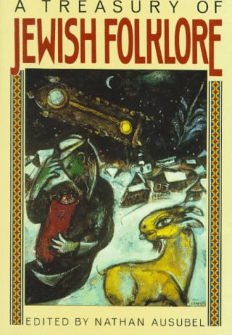 9780517502938: A Treasury of Jewish Folklore