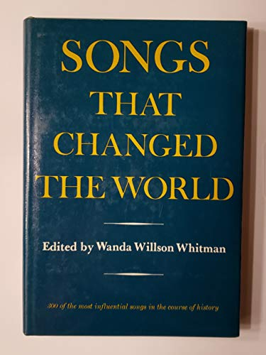 9780517503140: Songs That Changed the World
