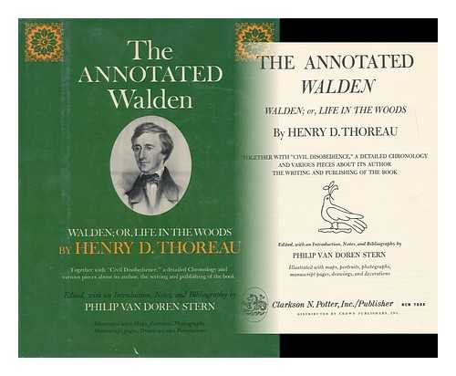 THE ANNOTATED WALDEN: Thoreau, Henry D.