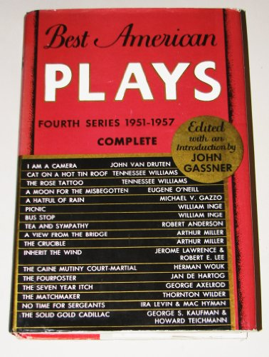 9780517504369: Best American Plays: Fourth Series, 1951-1957