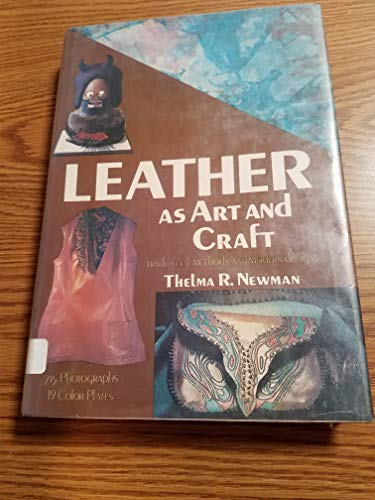 9780517505748: Leather as Art and Craft