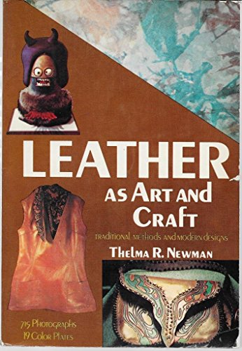 9780517505755: Leather As Art and Craft
