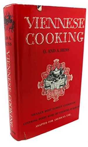 VIENNESE COOKING: Olga Hess, A. Hess