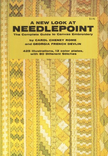 9780517511183: A New Look At Needlepoint: The Complete Guide to Canvas Embroidery