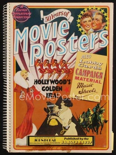 50 years of movie posters. Introduction by David Robinson.: Kobal, John (Compiled and Edited with ...