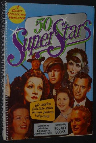 50 Superstars.: Kobal, John (editor) Taylor, Russell (introduction).