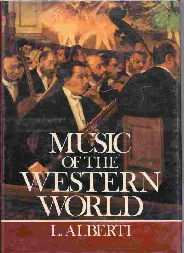 9780517516263: Music of the Western world