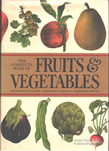 9780517520338: The Complete Book of Fruits and Vegetables