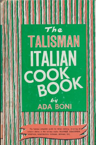 9780517520406: The Talisman Italian Cookbook
