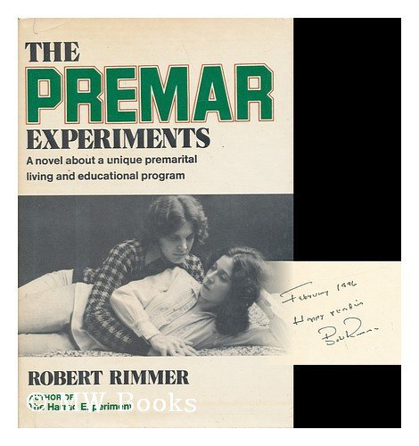 9780517521489: The Premar Experiments : a Novel / by Robert Rimmer