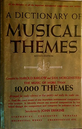 9780517524466: A Dictionary of Musical Themes: The Music of More Than 10,000 Themes