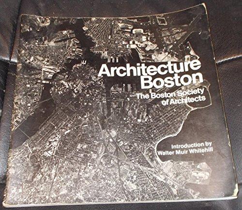 9780517525029: ARCHITECTURE BOSTON