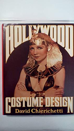 Hollywood Costume Design: David Chierichetti