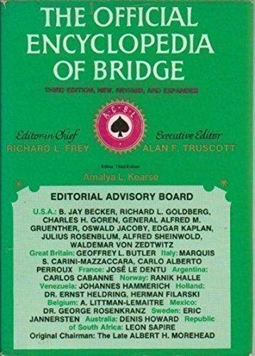 9780517527245: The Official Encyclopedia of Bridge