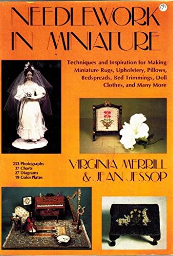 Needlework in Miniature: Virginia Merrill, Jean