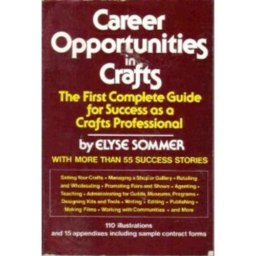 9780517528747: Career Opportunities in Crafts