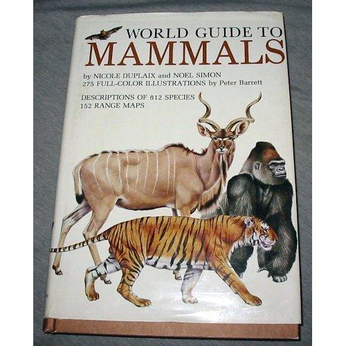 9780517529201: World Guide to Mammals