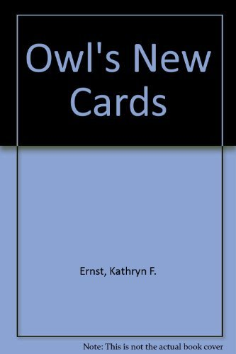 9780517530900: Owls New Cards