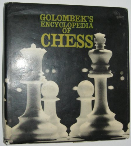 9780517531464: Golombek's Encyclopedia of Chess