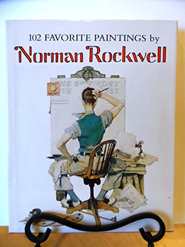 9780517534489: 102 Favorite Paintings by Norman Rockwell