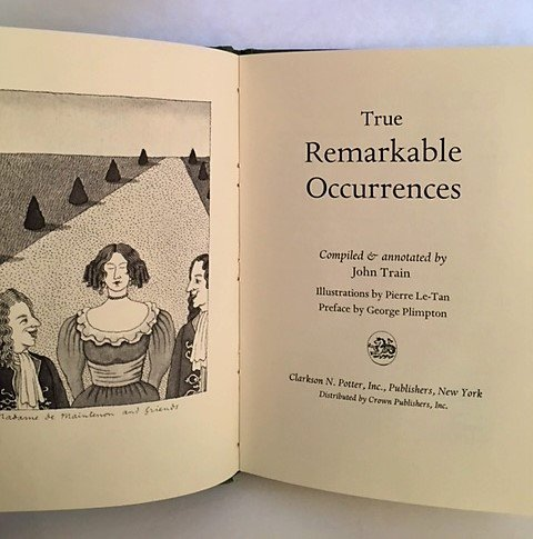 9780517535059: Remarkable Occurrences