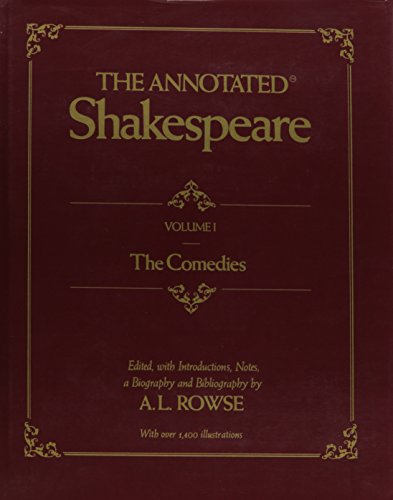 9780517535066: Annotated Shakespeare Vol 1
