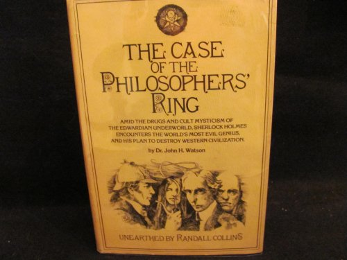 The Case of the Philosophers' Ring By Dr. John H. Watson