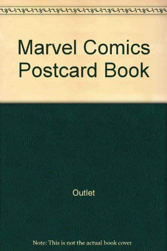 Marvel Comics Postcard Book