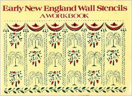 9780517535615: Early New England Wall Stencils: A Workbook