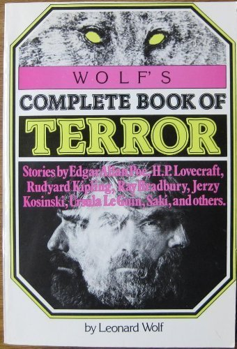 Wolfs Complete Book of Terror (0517536358) by Leonard Wolf