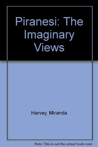 9780517538265: Piranesi the Imaginary Views