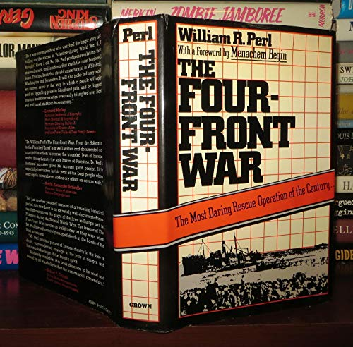 9780517538371: Four-Front War: From the Holocaust to the Promised Land