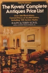 9780517538791: The Kovels' Complete Antiques Price List: A Guide To The 1979-1980 Market For Professionals, Dealers, and Collectors