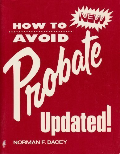 9780517539347: How to Avoid Probate Update