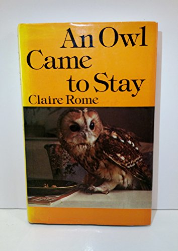 9780517539804: An Owl Came to Stay