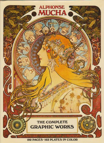 9780517541890: Alphonse Mucha: The Complete Graphic Works