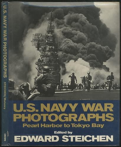 9780517541906: US Navy War Photographs : Pearl Harbor to Tokyo Bay