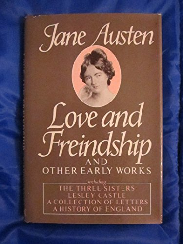 9780517544594: Love and Freindship and Other Early Works